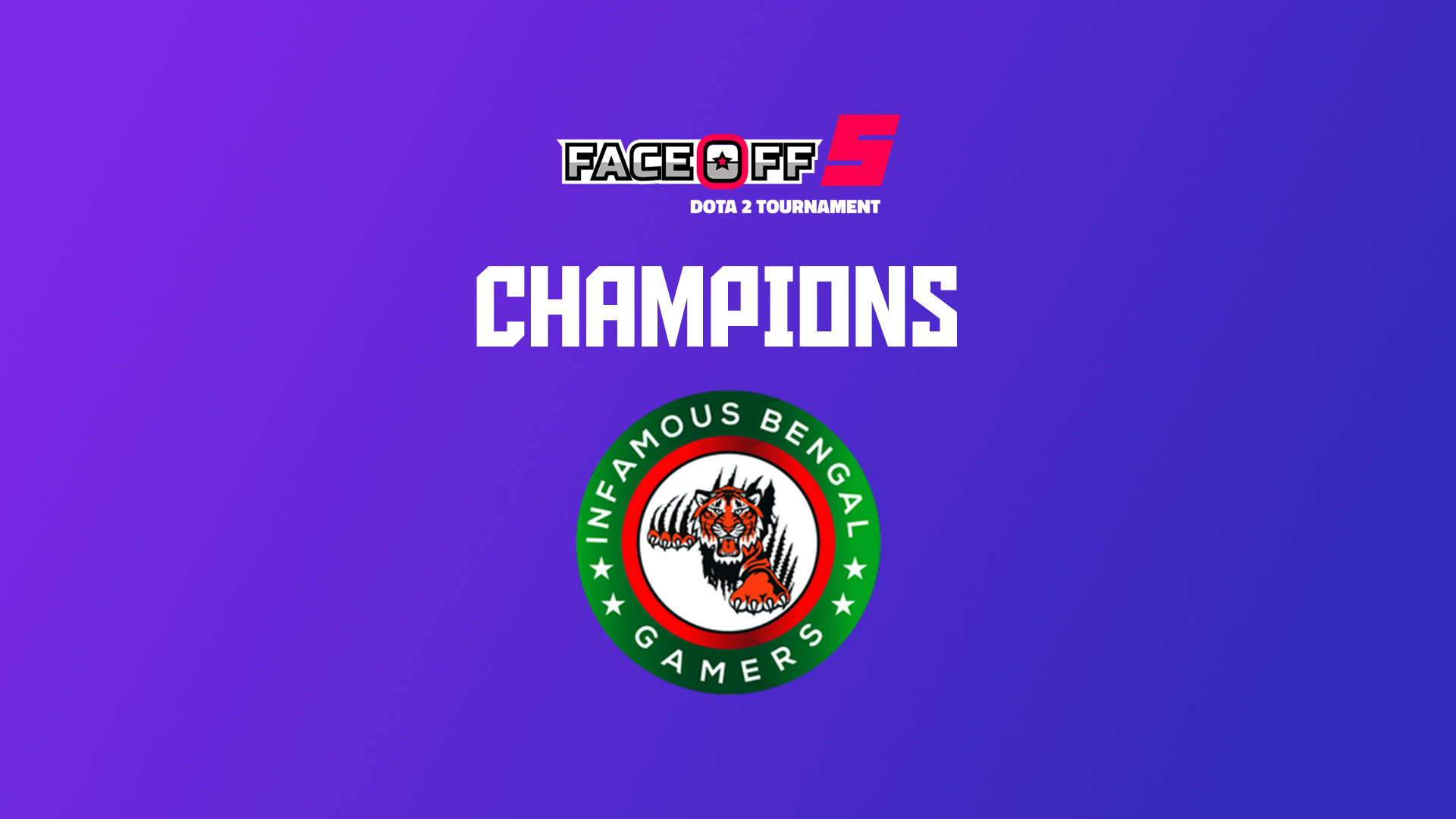 DaGameLeague esports news Faceoff 5 comes to an end. banner