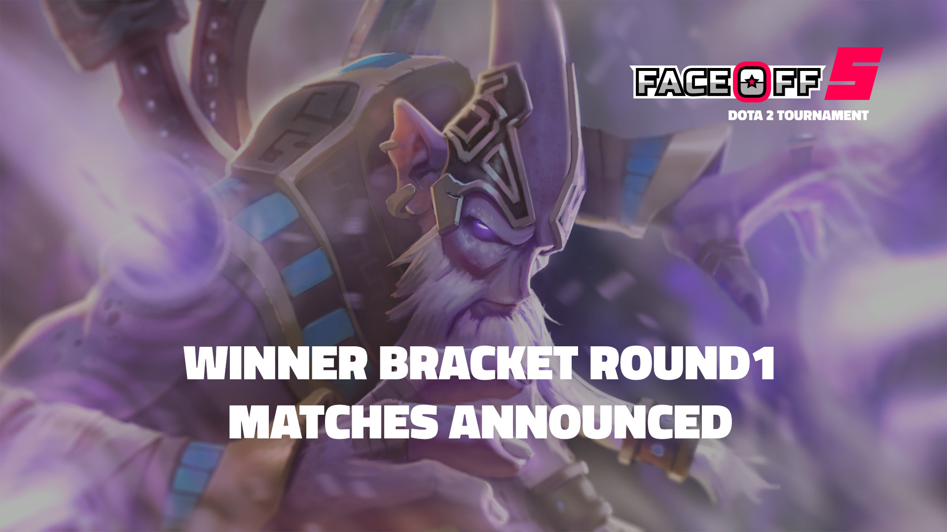 DaGameLeague esports news Faceoff 5 Round 1 Matches Announced banner